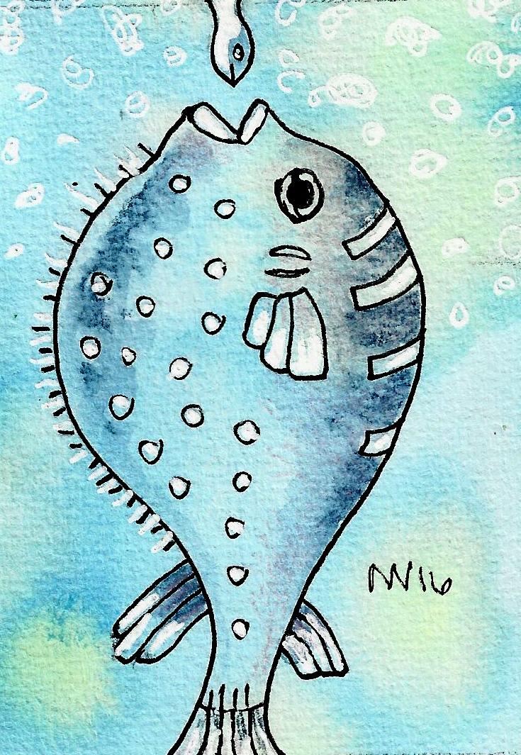 puffyfisheating